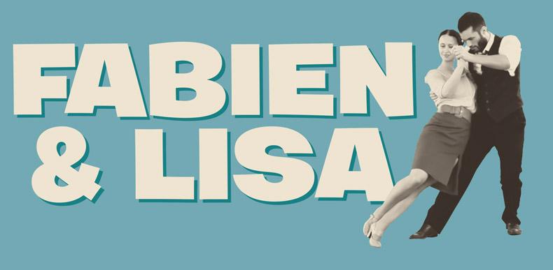 Fabien Vrillon & Lisa Clarke - Workshop di Lindy Hop
