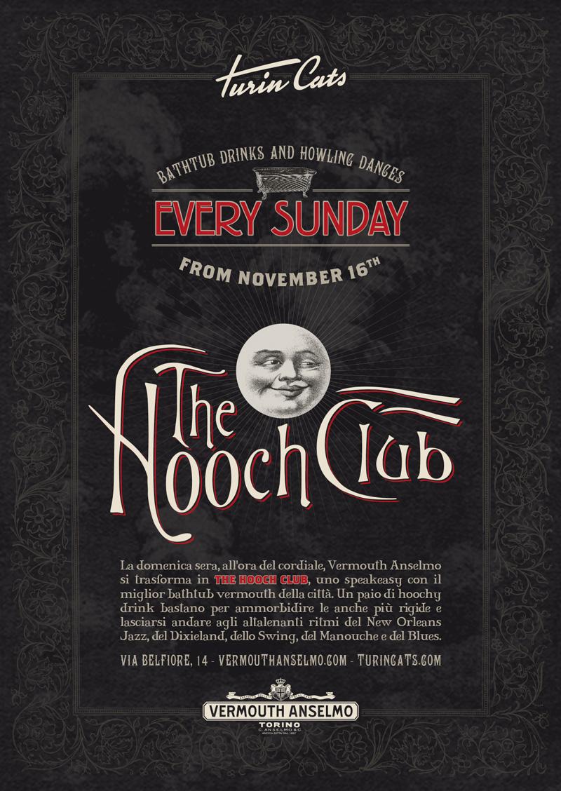 The Hooch Club - Vermouth Anselmo diventa uno speakeasy
