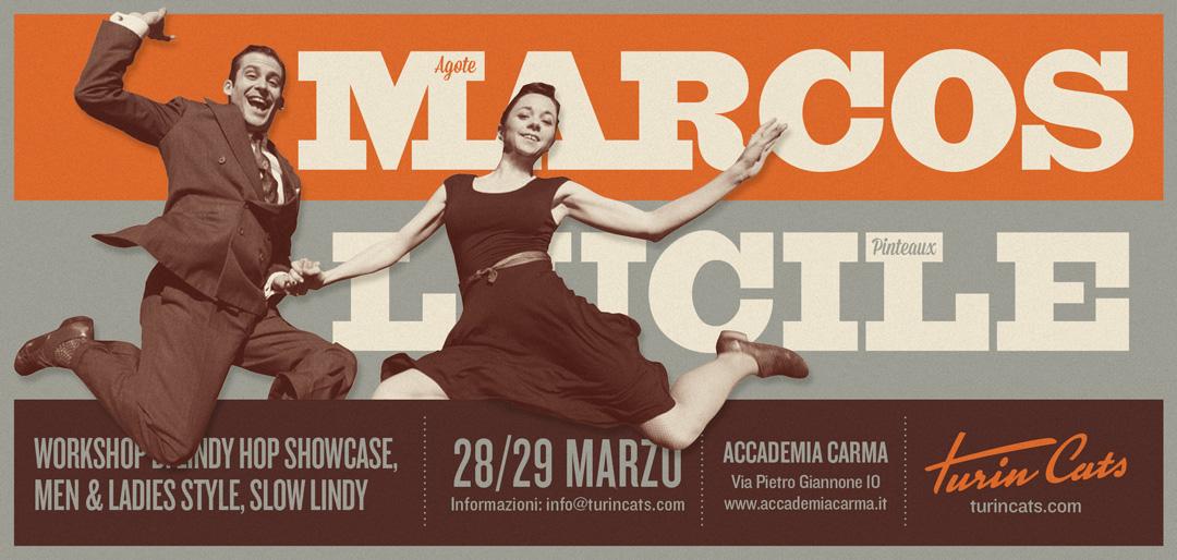 Workshop con MArcos Agote e Lucile Pinteaux