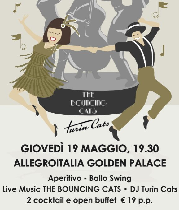 Turincats approda al GOLDEN PALACE di Torino!!